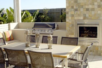Summer and Outdoor Kitchen