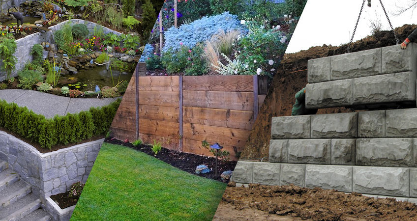 Concrete Retaining Wall Vs Timber Retaining Wall – Green Future